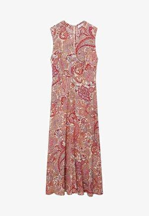 Denní šaty - rouge