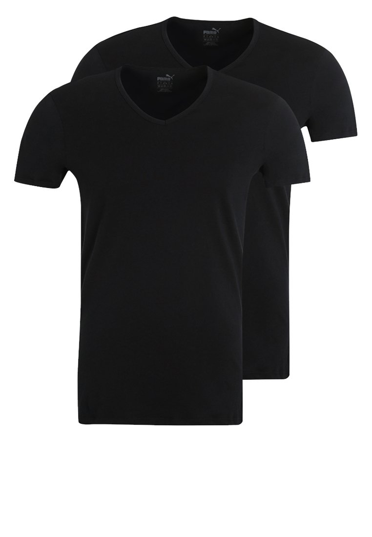 Puma - 2 PACK - Undershirt - black