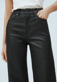 Pepe Jeans - Leather trousers - denim - 3