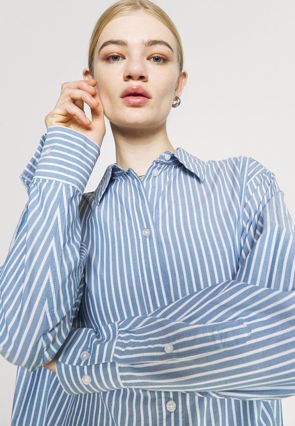 Weekday EDYN - Koszula - blue/niebieski IMNW
