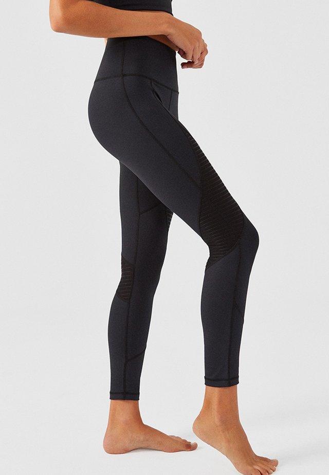 BURANO - Leggings - Trousers - black