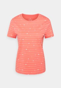 TOM TAILOR - T-shirts med print - red - 0