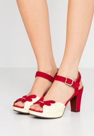 EDIT - Sandalen met hoge hak - luna sun/rojo/cherry
