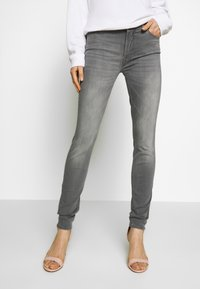 7 for all mankind - ILLUSION LUXE BLISS - Jeans Skinny Fit - grey - 0