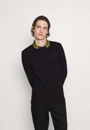 Poloshirt - nero/oro