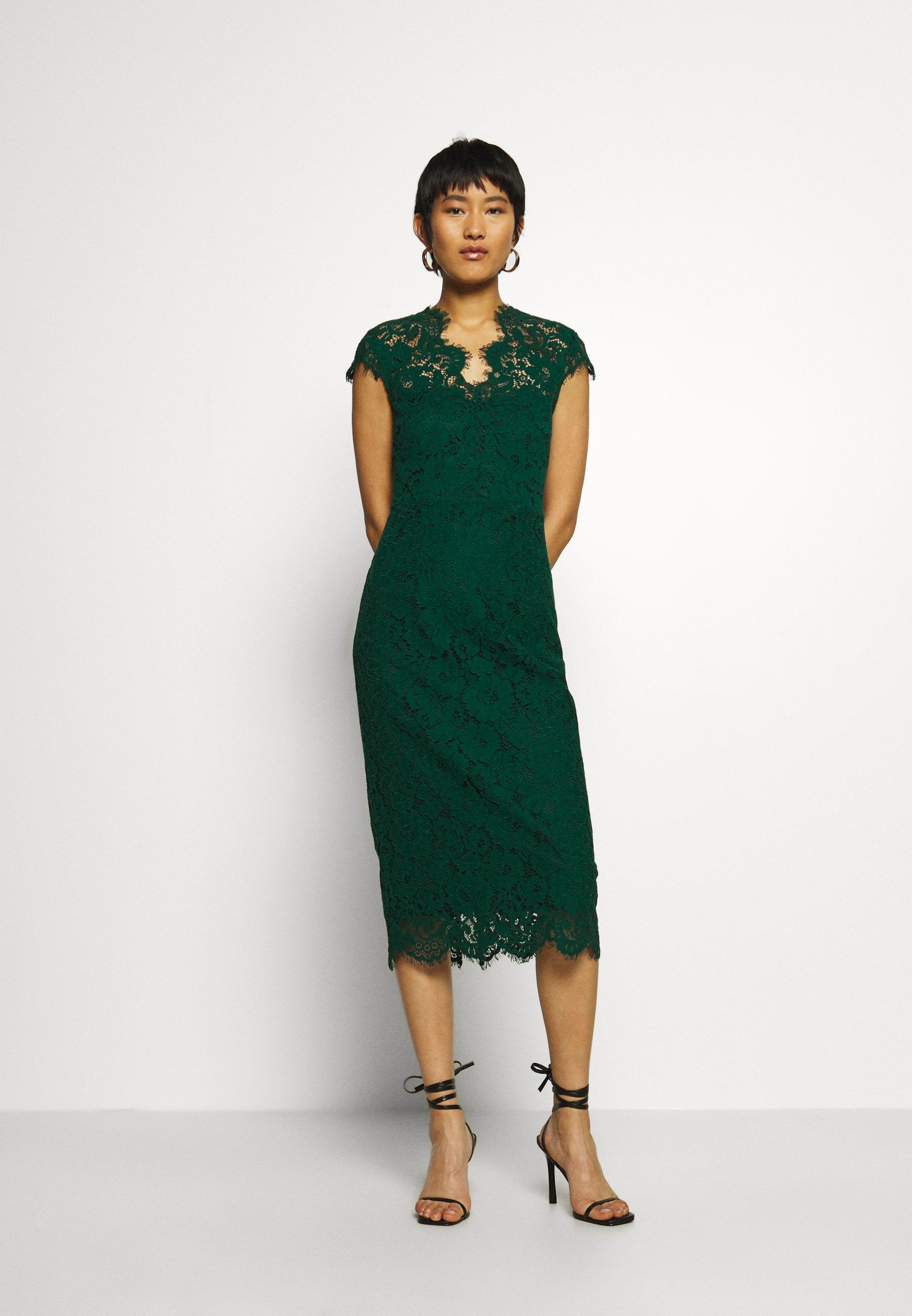 shift dress midi - cocktailkleid/festliches kleid - eden green