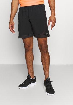 SHORT FIERCE DRY - Sportovní kraťasy - black