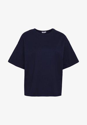 JANELLE TEE - Basic T-shirt - navy