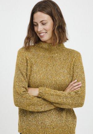 Trui - golden brown mix