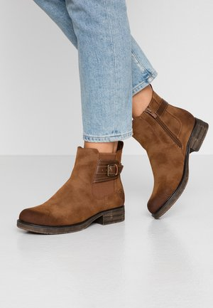 Ankle boots - mogano