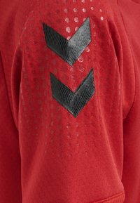 Hummel - Print T-shirt - true red - 3
