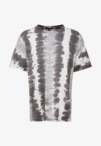 New Look - VERT WASH TEE - T-shirts print - dark grey