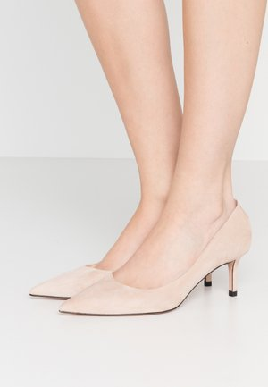 INES - Decolleté - light beige