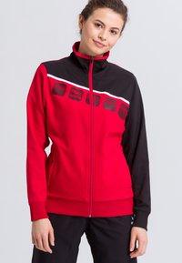 Erima - Sports jacket - red/black/white - 0