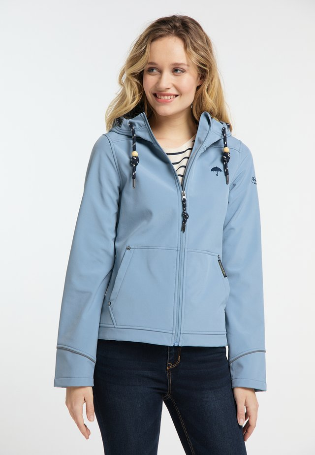 Outdoorjas - blue denim