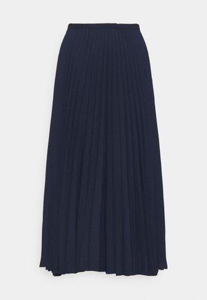 DRAPEY SKIRT - A-line skirt - french navy