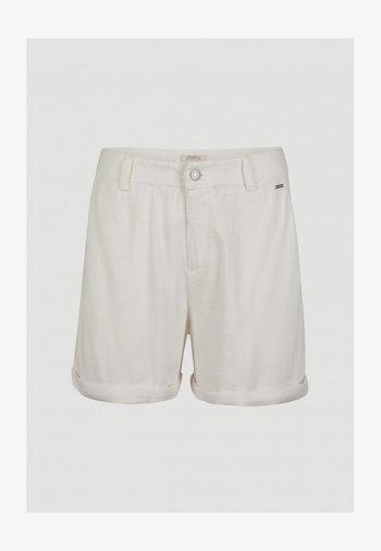 Shorts - powder white