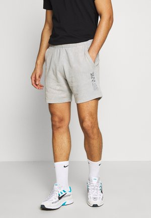 WASH - Tracksuit bottoms - smoke grey