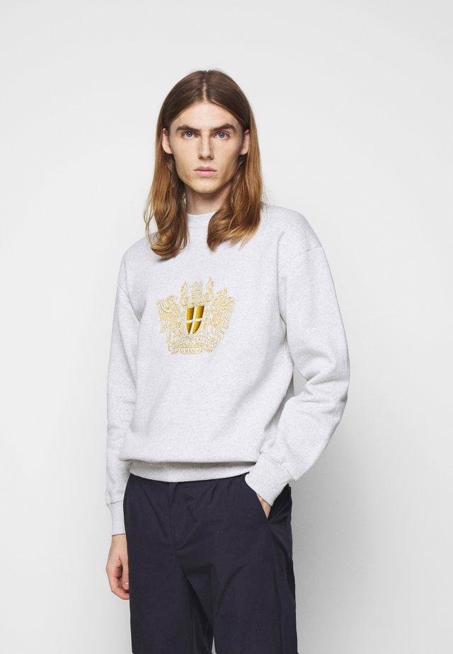 ARTWORK CREW - Sweatshirts - grey melange