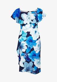 Dorothy Perkins - LUXE FLORAL BARDOT DRESS - Etuikjole - blue - 4