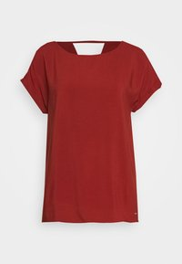 WITH BACK DETAIL - Blouse - rust orange