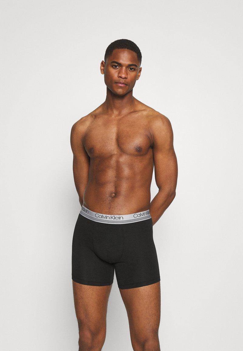 Calvin Klein Underwear - BOXER BRIEF 3 PACK - Culotte - black