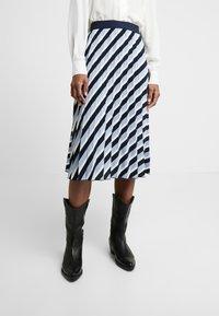 Opus - RUDY - A-line skirt - just blue - 0