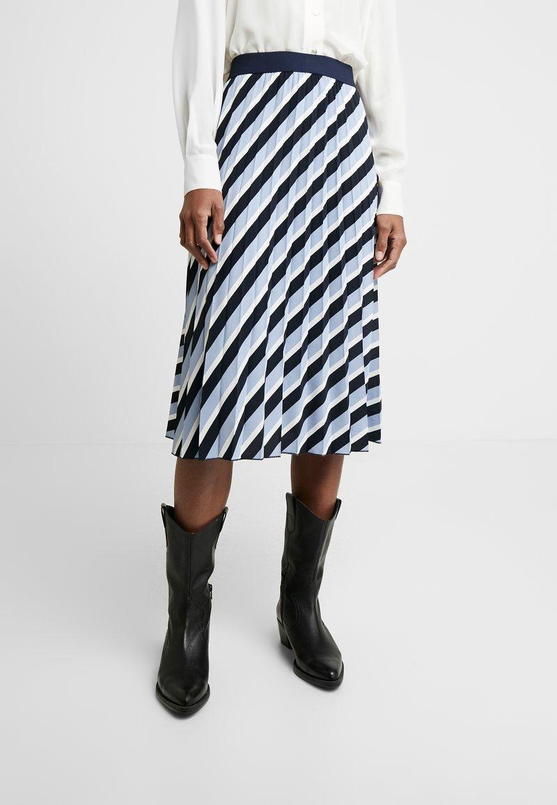 Opus - RUDY - A-line skirt - just blue