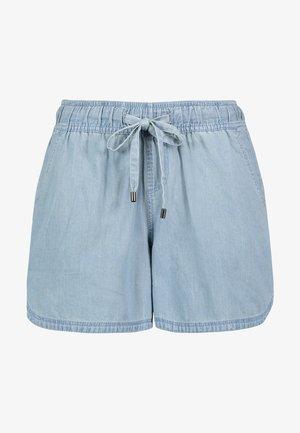Denim shorts - light-blue