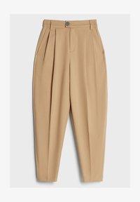 Bershka - KAROTTEN - Pantalon classique - beige - 4