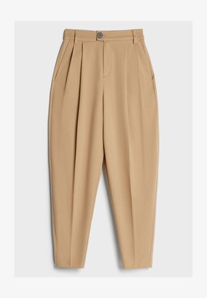 KAROTTEN - Trousers - beige