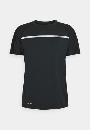 SERZO TEE - T-shirt con stampa - black