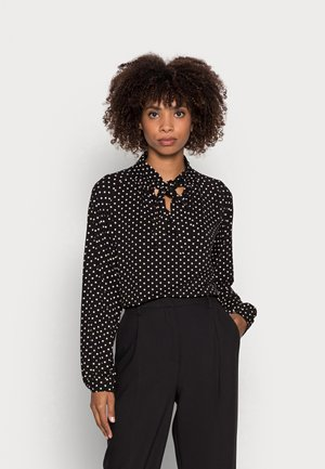 DOTTED  - Blouse -  black
