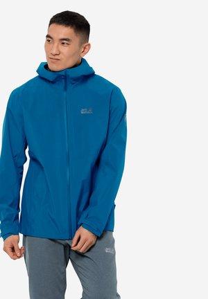 Waterproof jacket - blue pacific