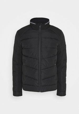 QUILTED JACKET - Light jacket - black