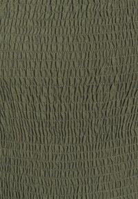 JDY - JDYMINA 3/4 SMOCK ANKLE DRESS - Maxi dress - kalamata - 2