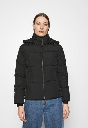 ELASTIC LOGO SORONA SHORT JACKET - Winter jacket - black