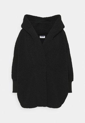 NMCUDDLE COATIGAN - Fleece jacket - black