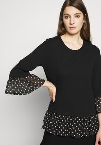 Steffen Schraut - OLIVIA LOVELY  - Long sleeved top - black - 3