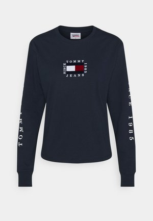 FLAG LONGSLEEVE - T-shirt à manches longues - twilight navy