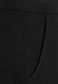 Banana Republic Petite - WIDE LEG - Trousers - black - 6