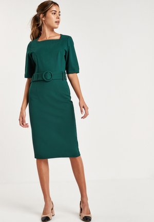 BODYCON PONTE - Shift dress - green