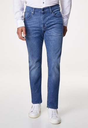 JOHN - Slim fit jeans - blue denim