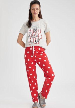 2 PIECE SET - Pyjama set - red