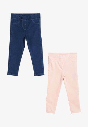 2 PACK - Jeggings - pink