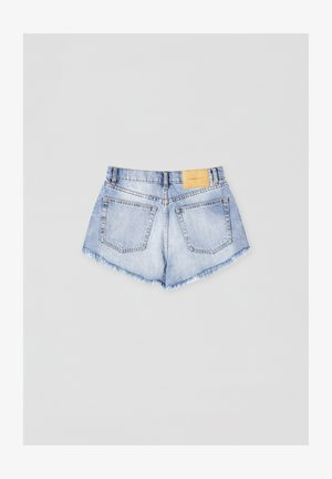 Denim shorts - light blue