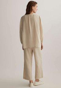 OYSHO - Trousers - beige - 2