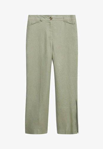 POLLITO8 - Trousers - minzgrün