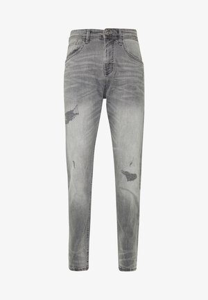 TAPERED CONROY  - Jeans fuselé - mid stone grey