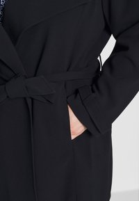 Lauren Ralph Lauren Woman - CREPE SYNTHETIC COAT - Frakker / klassisk frakker - midnight - 5